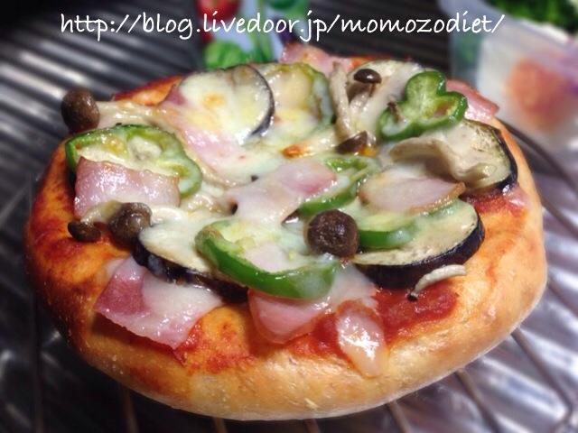 大豆粉ミックスピザ