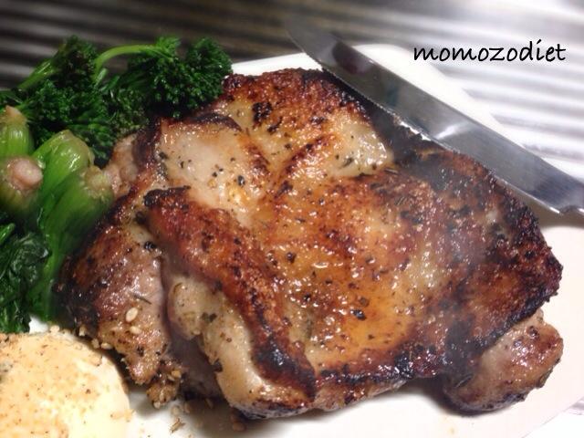 鶏もも肉ガーリック醤油ソテー
