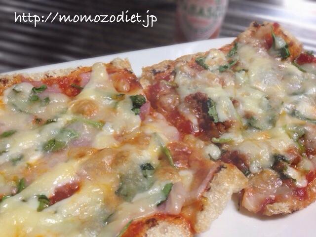 南関揚げピザ
