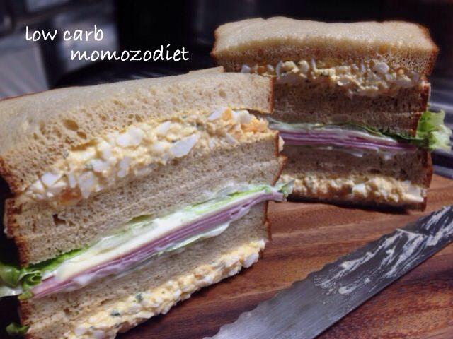 サンドイッチ並べた