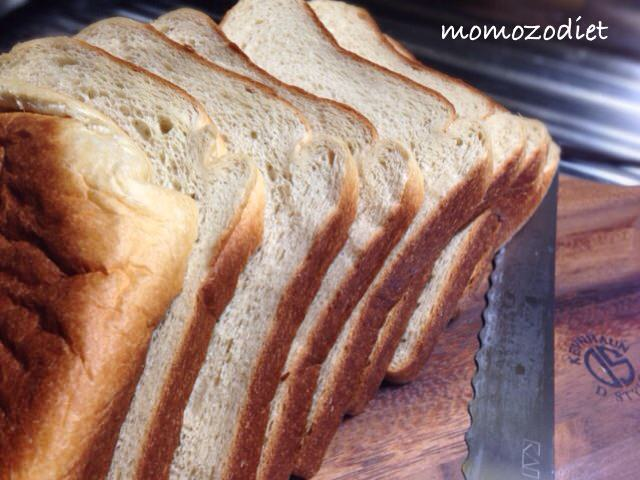 角食パン並べた