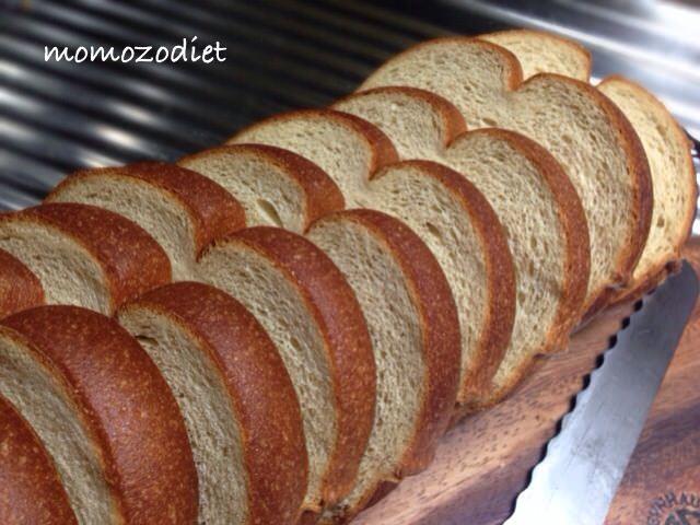 パンを切った