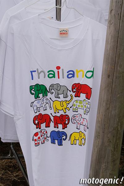 タイフェス象のTシャツ