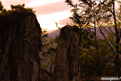 大聖神社天狗の石碑