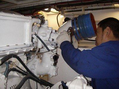 gasket turbo out,mtu8v2000