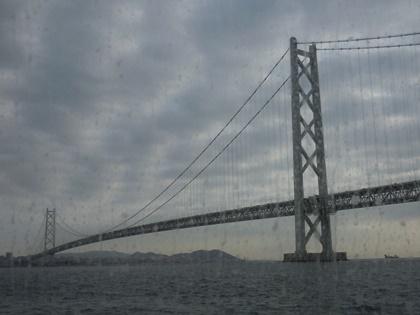 船からの大橋