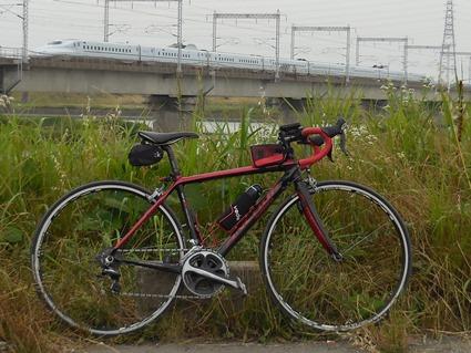 自転車と新幹線