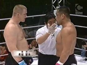 試合直前、硬さが見える藤田
