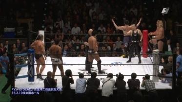 鈴木、菊田もリングへ