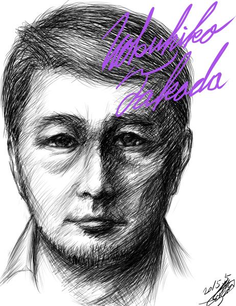 ささのっちさん画・高田延彦