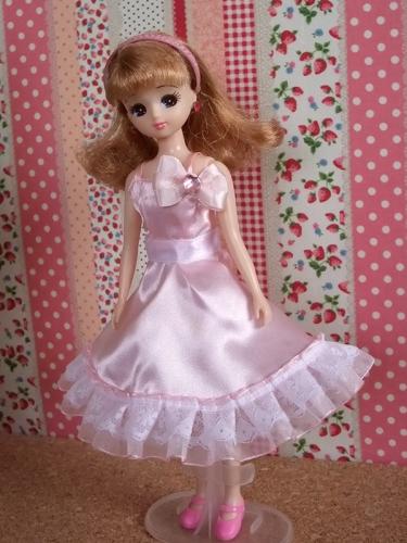 リカちゃんにデコドレス