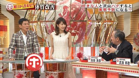 加藤綾子アナのノースリなワキが一段とエ□  いカタチになってるwwwwww