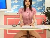 「クッソモデルキャスター」企画で連日ハメられながらニュース「ハァハァ」よみ☆☆