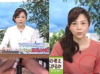 森本智子アナの乳首ピンコ立ち放送事故!アップで乳首ピンコ立ちハプ場面&本番中に手マンされバイブで悶絶!エロエロ場面をスローで!