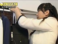 WBSで相内優香アナの爆乳が炸裂!!