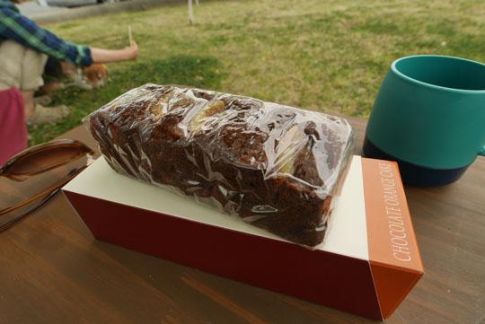 025チョコレートオレンジケーキ