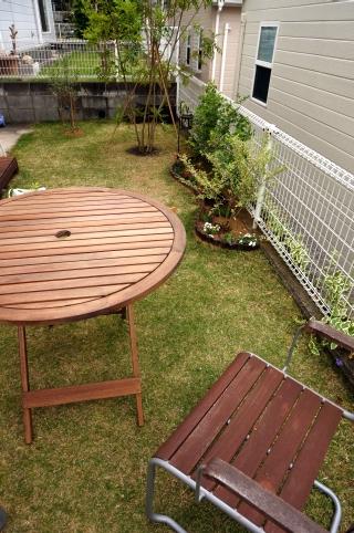ガーデンテーブル 円形