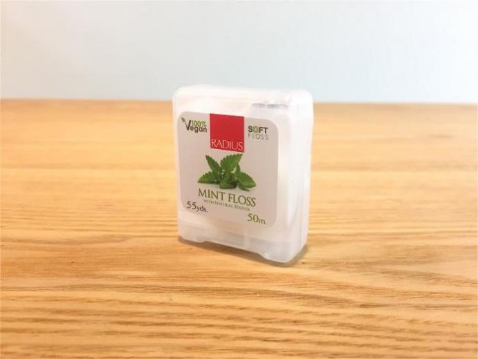 RADIUS, Vegan Xylitol Mint Floss, 55 yds (50 m) $3.59_1