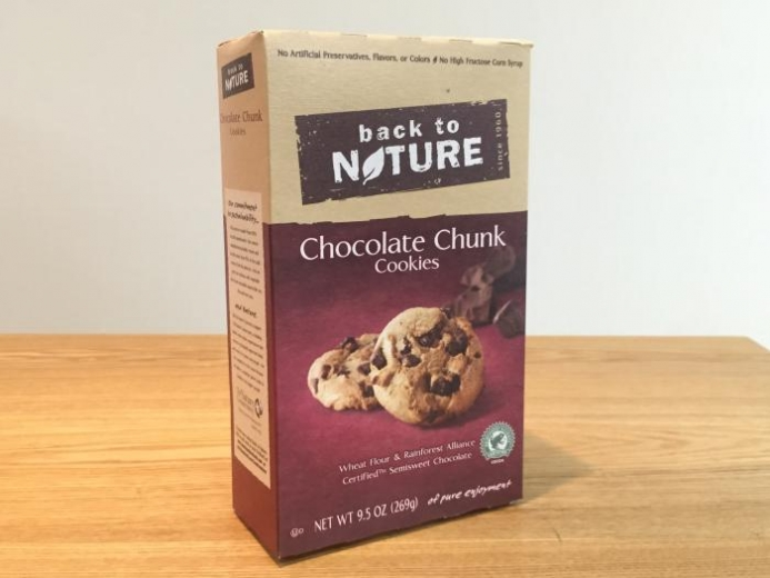 Back to Nature, Chocolate Chunk Cookies, 9.5 oz (269 g) $4.51