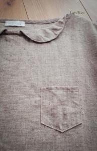 リネン飾り襟付きプルオーバー2