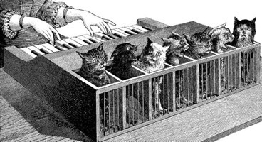 Kircher's Cat Piano