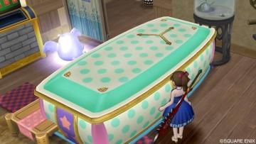水玉の棺おけ風ベッド1