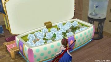 水玉の棺おけ風ベッド2