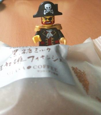 お菓子とキャプテン