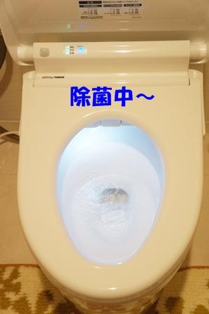光るトイレ~