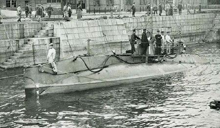 在りし日の第六潜水艇