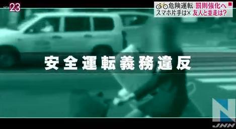 月1日から道路交通法が改正 ...