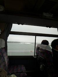 バスからの海