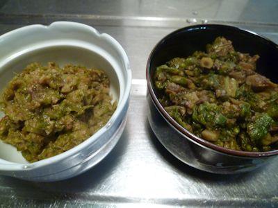 フキみそ&ふきのとう醤油煮