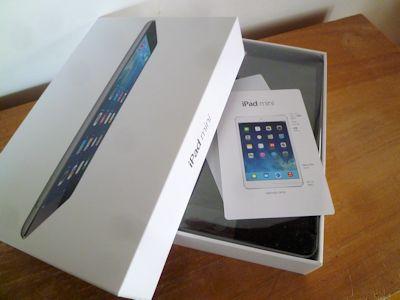 iPad mini、買ったった~
