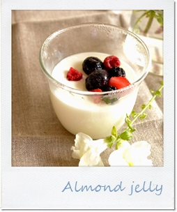 Almond jelly20150506