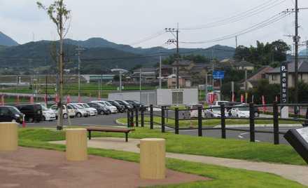 遺跡公園から第三駐車場