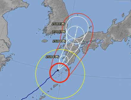 台風15号 5