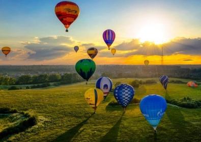 気球 優雅 空