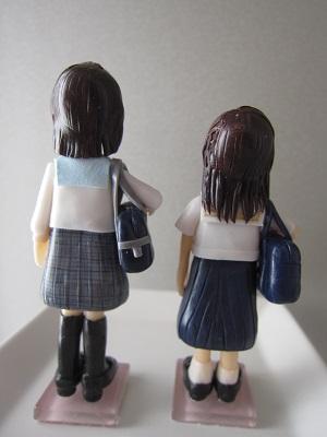バッグ付き女子中高生6