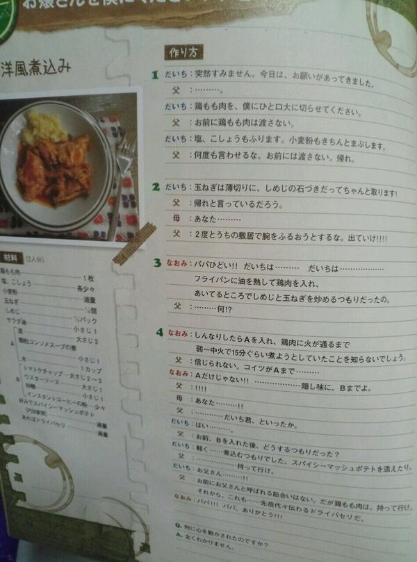 なに、この料理本www