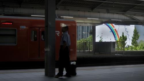 IMG_4182 大阪駅の虹