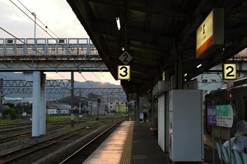 IMG_6632 広駅 夕陽