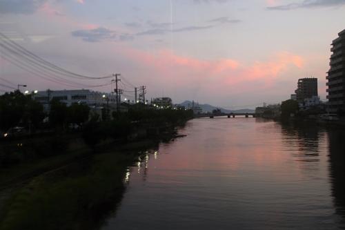 IMG_6655 呉線 夕景