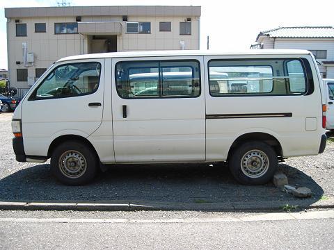 トヨタ・ハイエース(4代目)B