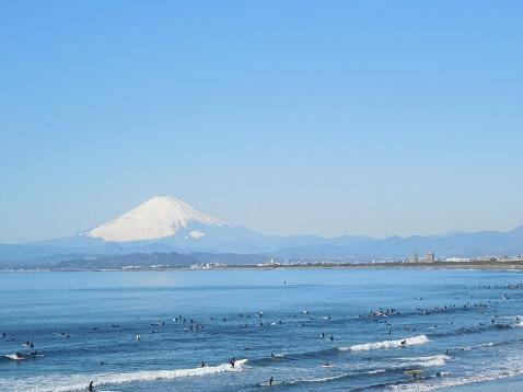えのすいから見た富士山@藤沢市A