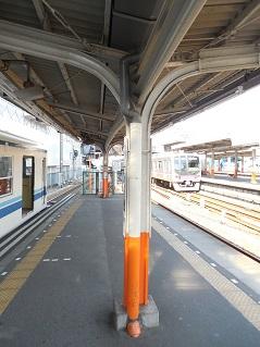 東武大師線の西新井駅@東京都足立区E