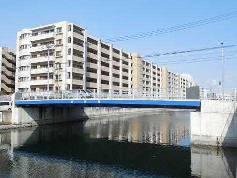 新山下運河の新開橋@横浜市中区A