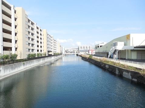 新山下運河の新開橋@横浜市中区J