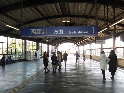 東武大師線の大師前駅@東京都足立区D