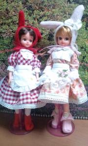 ピンクマイメロと赤マイメロ